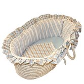 Spa Blue Moses Doll Basket