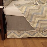 Chevron Crib Skirt