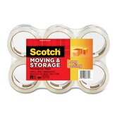 Moving and Storage Tape, 6 Rolls/Pack
