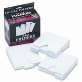 CD File Folder, 100/Pack
