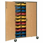 60&quot; H Storage Cabinet with Optional Trays