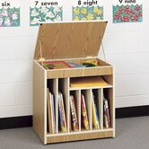 Mobile Big Book Storage Rack