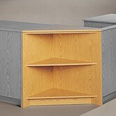 Library Modular Front Desk System - Corner Display Unit
