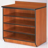 "Illusions 36"" H Base Shelf Cabinet without Doors"