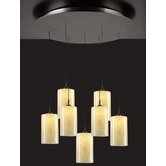 Cylindro 7 Light Mini Pendant