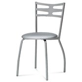 Paco Dining Chair in Satinated Aluminium