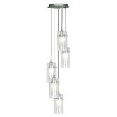 Duo 1 Five Light Pendant