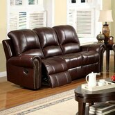 Sedona Leather Reclining Sofa