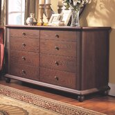 Novara 8 Drawer Dresser and Mirror