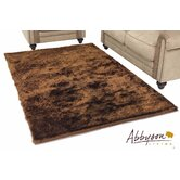 Multi-Tone Brown Shag Rug