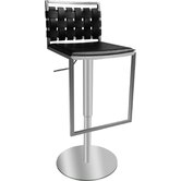 Sigma Leather Barstool