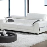 Flynt Leather Sofa