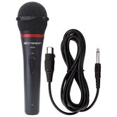 Professional Microphone with Durable Metal Case and Grill