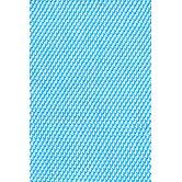 Two-Tone Rope Turquoise/White Rug