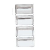 Linked Bread Pans (Set of 4)