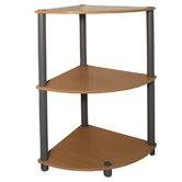 Multipurpose Corner Rack in Beech