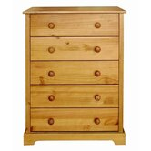 Atlantic 5 Drawer Chest
