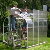 Cross Country Pacific Series Polycarbonate Greenhouse