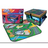 Full Throttle™ Small Town Toy Box & Playset