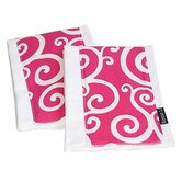 Think Pink Burp Cloth Set