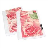 Eden of Roses Burp Cloth Set