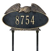 Eagle Oval Standard Lawn Plaque
