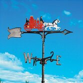 "30"" Fire Wagon Weathervane"