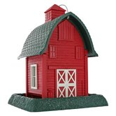 8 Lb Capacity Barn Village Collection Bird Feeder