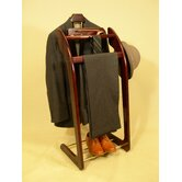 Windsor Wardrobe Valet in Mahogany