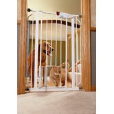 Extra-Tall Pet Gate with Pet Door