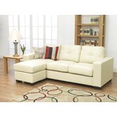 Gemona L Sofa in Ivory
