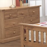 Devon 3 Over 4 Drawer Wide Chest