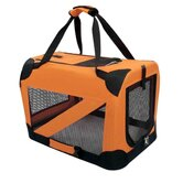 Zippered 360&deg; Vista View Pet Carrier in Orange