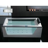 59&quot; x 32&quot; x 25.5&quot; Free Standing Whirlpool Bath Tub