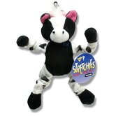 Cow Stretchies Dog Toy