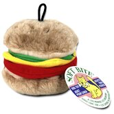 Medium Burger Dog Toy