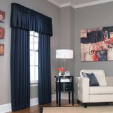 Cameron Drapes and Valance Set in Navy