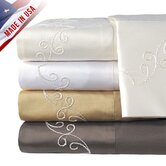 Supreme Sateen 800 Thread Count Scroll Sheet Set