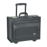 Leather Rolling Laptop Catalog Case