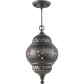 Marrakech Outdoor Pendant in Oil Rubbed Bronze