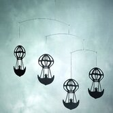 Hans Christian Andersen Balloons Mobile in Black