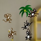 Monkey Tree Mobile