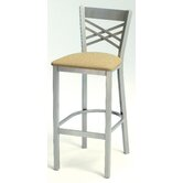 "Melissa Anne Cross Back Barstool (24"" - 36"" Seats)"