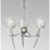 Viola 3 Light Chandelier