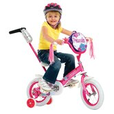 "Girls 12"" Juvenile Petunia Bike with Training Wheels"
