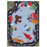 Kinder Fantasy Track Kids Rug