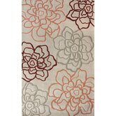 Pop Beige Flower Power Rug