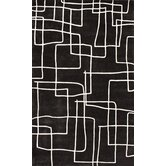Cine Maze Black Rug