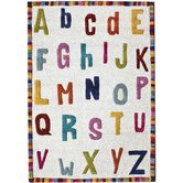 Kinder Educational Letters Kids Rug