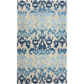 Pop Ikat Blue Rug